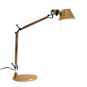 Artemide Tolomeo Micro Bordslampa Gold Limited Edition