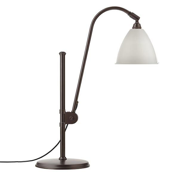 Bestlite BL1 Bordslampa Svart Mässing & Vit