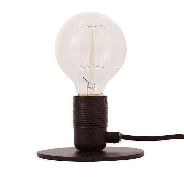 FRAMA E27 Bordslampa Svart