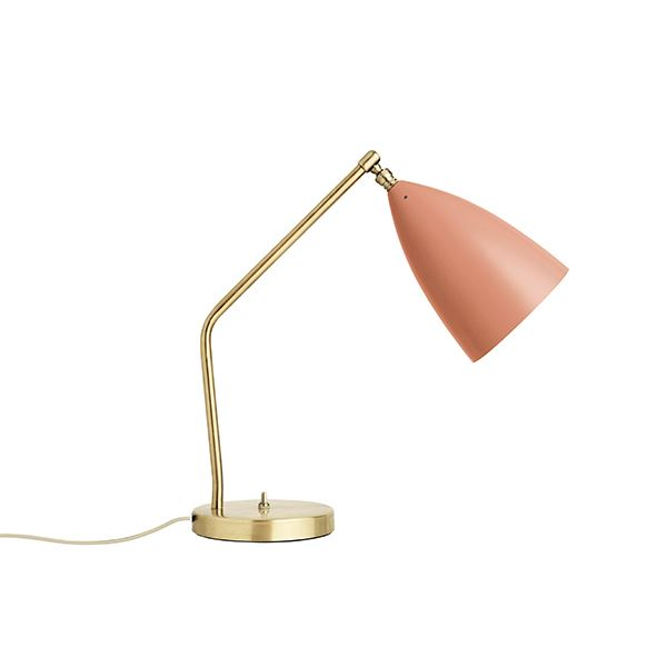 GUBI Grossman Collection Gräshoppa Task bordlampa Vintage Röd