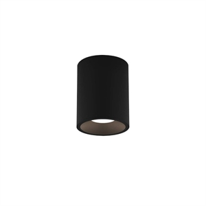 Astro Kos Round 100 Badrumslampa LED Texture Black