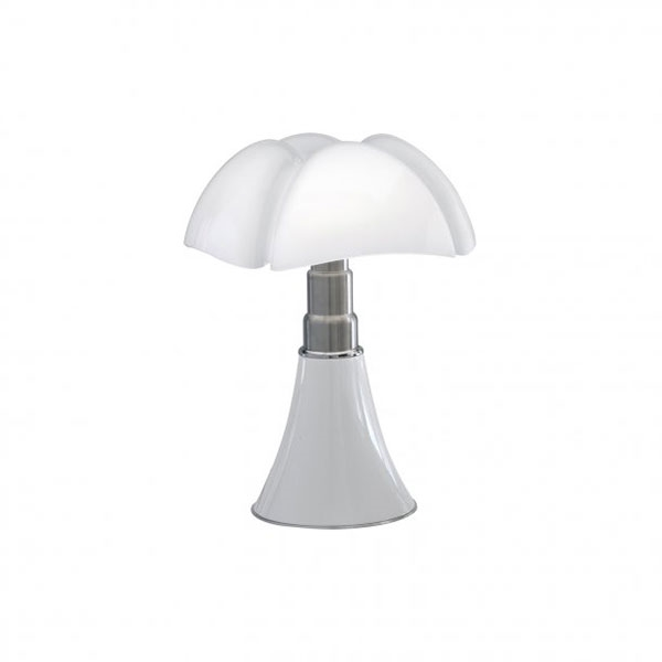 Martinelli Luce Mini Pipistrello 1965 Bordslampa Vit