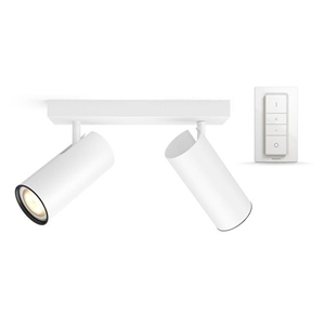 Philips Hue Connected Buratto 2-Spot i Vit