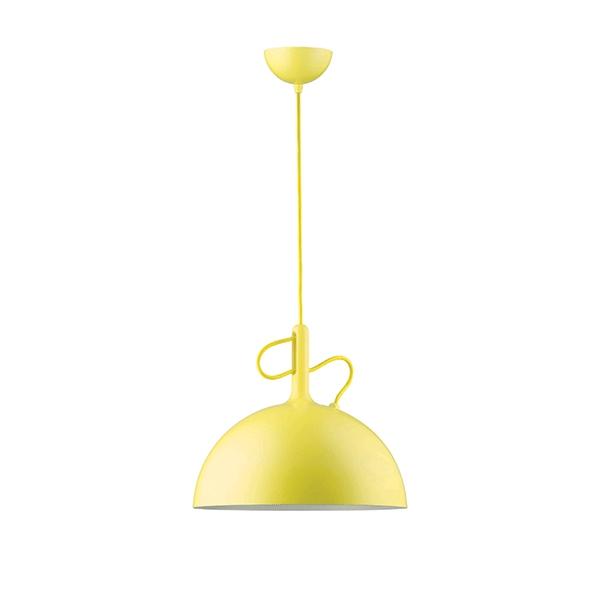 WATT A LAMP Adjustable Takpendel Stor Gul