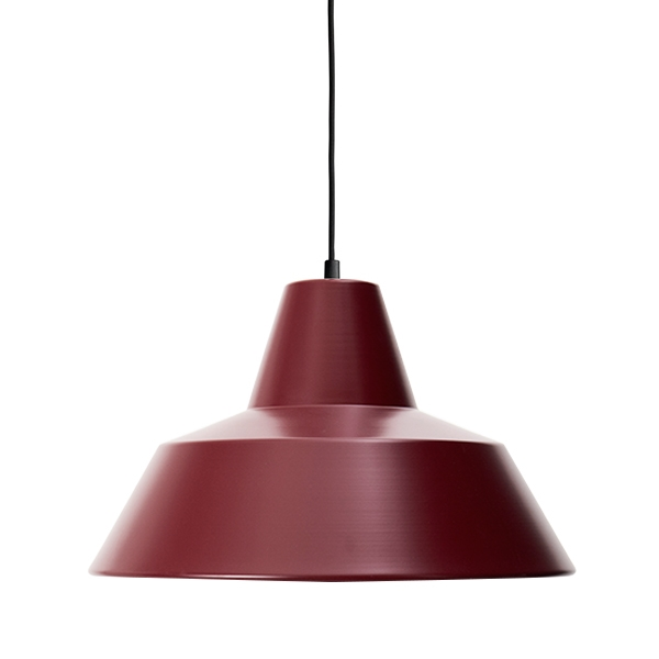 Made By Hand Verkstadslampa Takpendel Wine Red W4