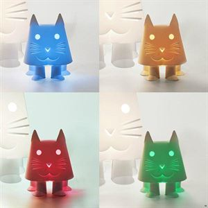 Zoolight Mini Katt Barn Bordslampa