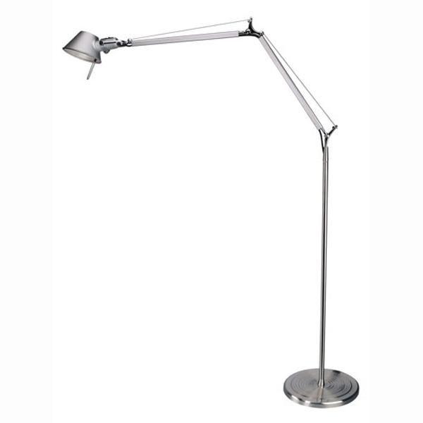 Artemide tolomeo golvlampa aluminium gratis frakt for Artemide verlichting