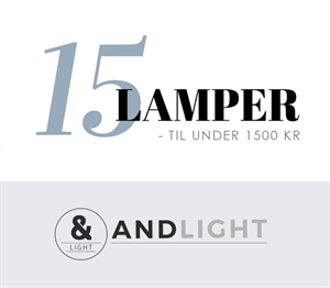 15 lampor under 1500 kr design pendel bordslampa