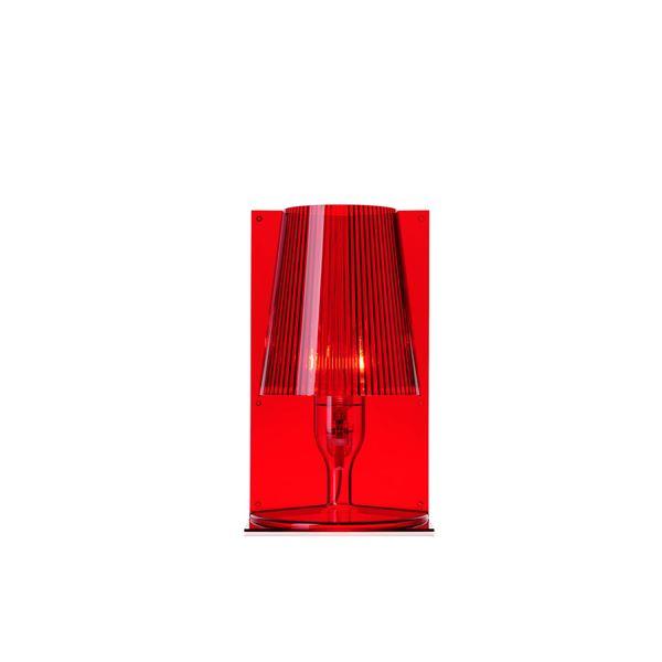 Kartell Take Bordslampa Röd Gratis frakt