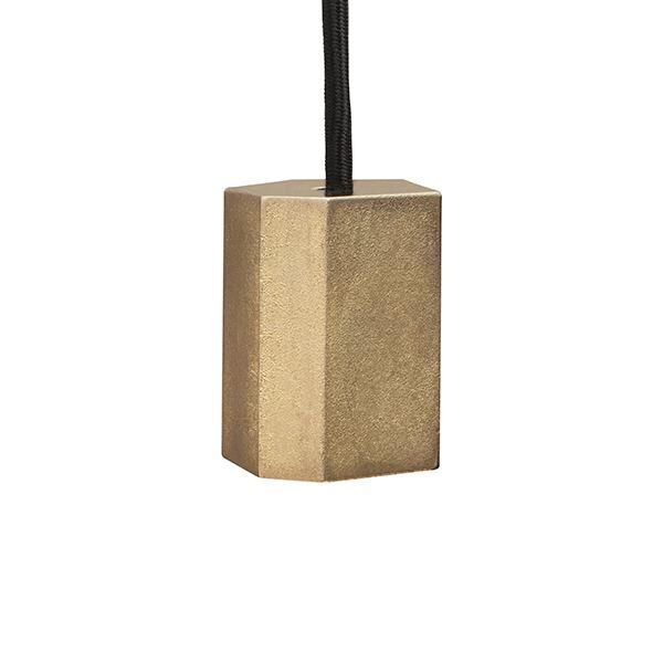 Tala Basalt Mässing Pendel 01 Sockel