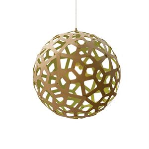 David Trubridge Coral Lime Pendel