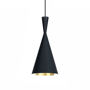 Tom Dixon Beat Pendel Tall Svart
