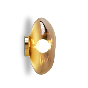 Tom Dixon Melt Surface Lampe Guld