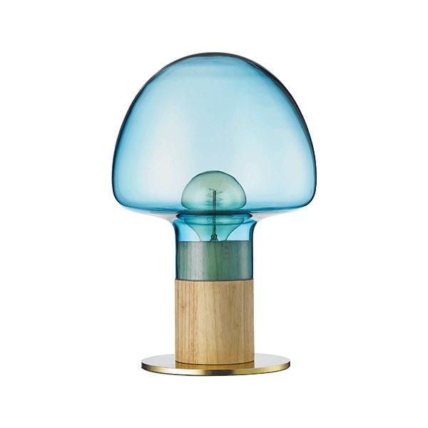 WATT A LAMP Mush Bordslampa Blå/Transparent