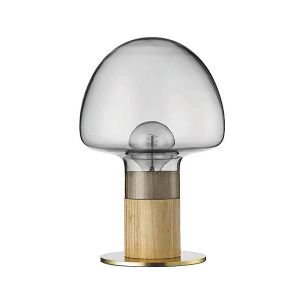 WATT A LAMP Mush Bordslampa Rökt/Transparent